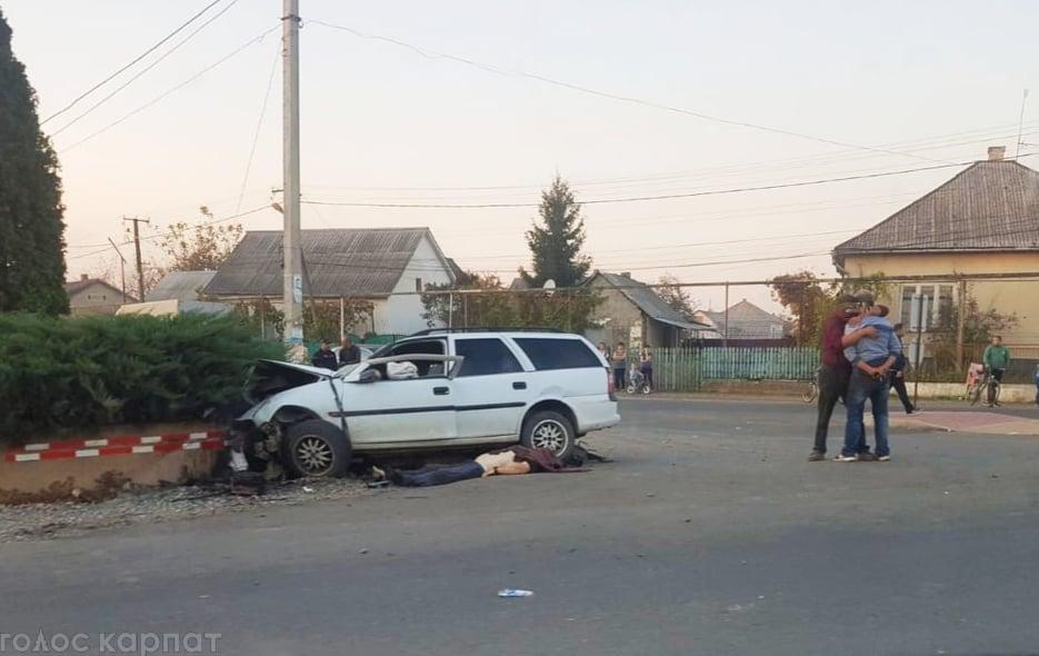 На Виноградівщині сталася смертельна аварія