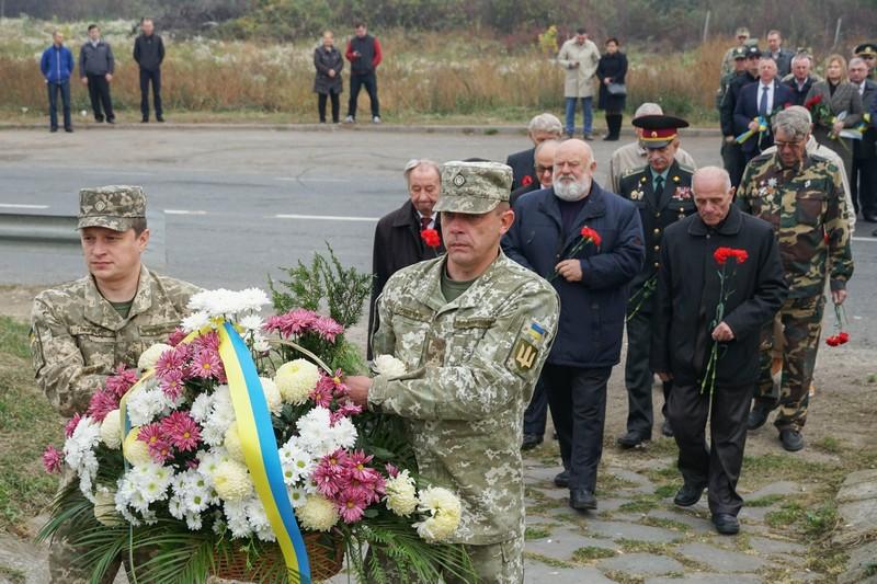 В Ужгороді відбулись урочистості до 75-ї річниці визволення України та Закарпаття від нацистських окупантів