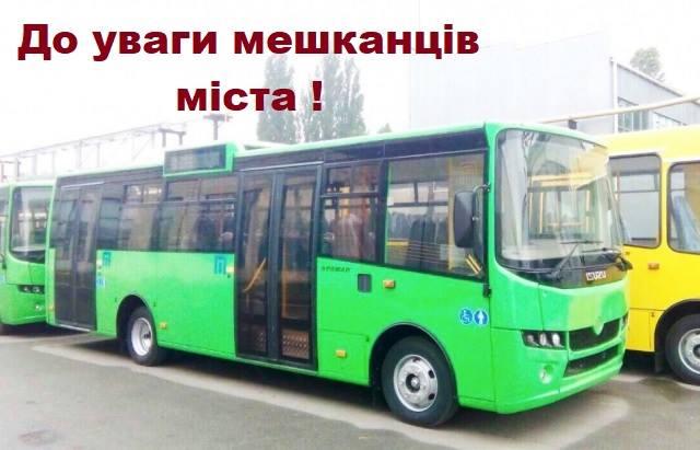 У Мукачеві 1 листопада курсуватиме додатковий автобус