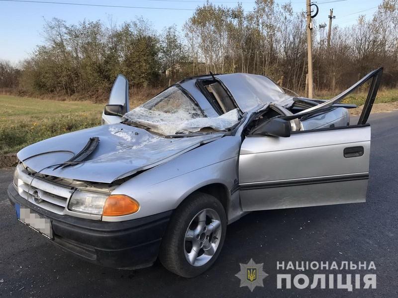 Смертельна ДТП на Ужгородщині: загинув чоловік