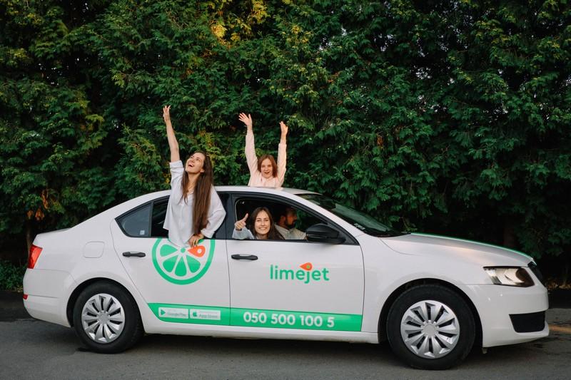 У Мукачеві запустили службу таксі LimeJet