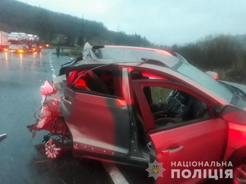 В області сталась аварія із смертельним наслідком