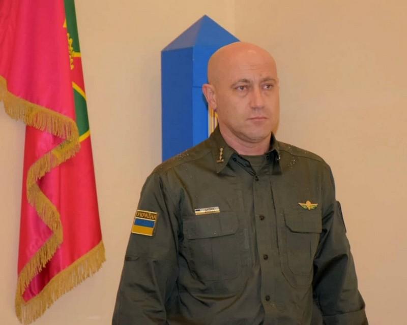 Чопський прикордонний загін отримав нового керівника