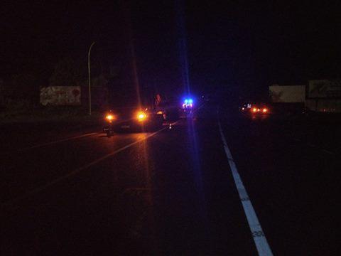 Вночі водій збив дівчину і втік із місця аварії