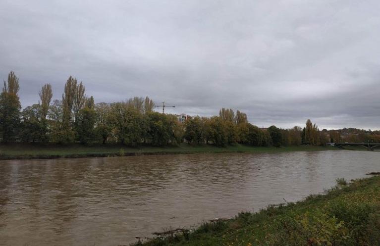 Рівень води в річках Закарпаття спадає