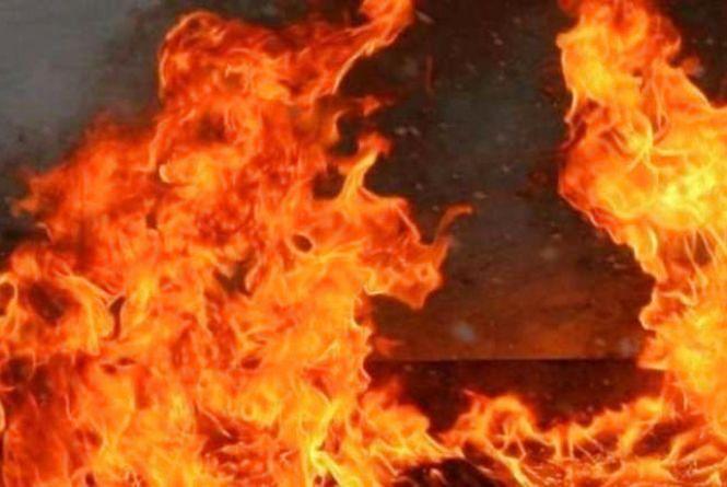 Сьогодні у Хусті загорівся будинок