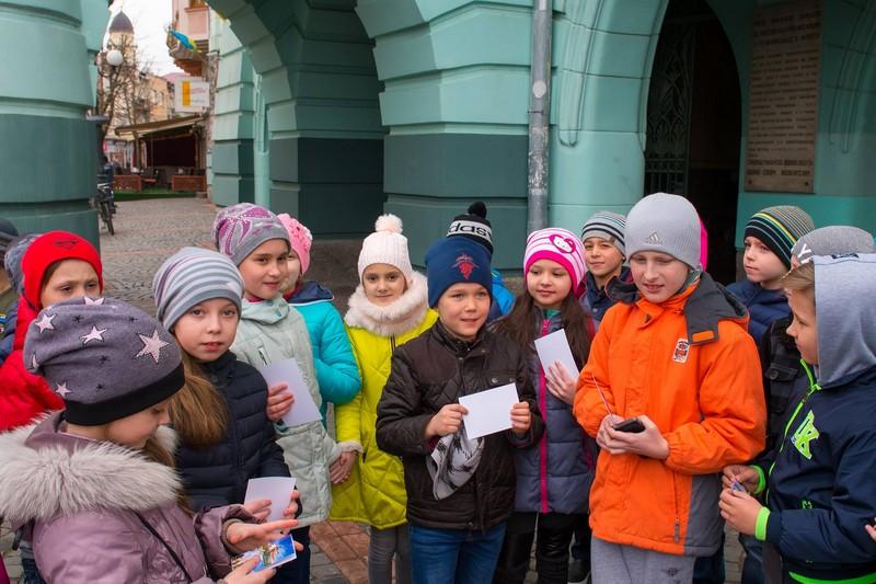 У Мукачеві для школярів організовують квест-екскурсію