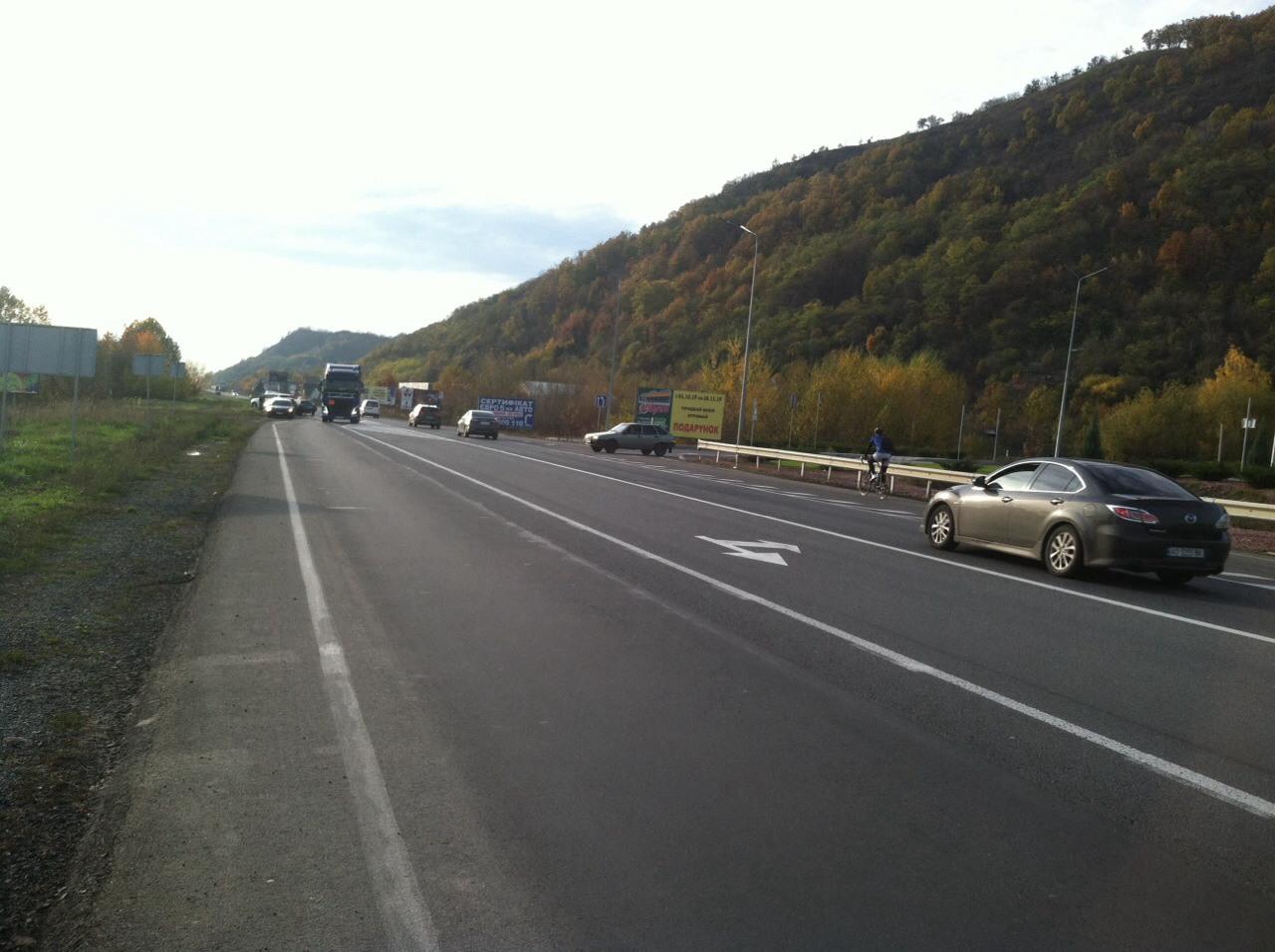 В Мукачеві зіткнулися автомобілі
