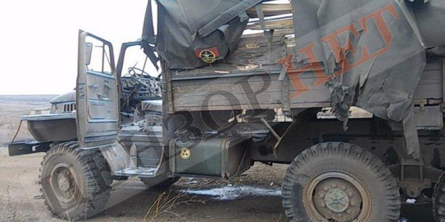 Бойовики обстріляли вантажівку 128-ї бригади: чотирьох військових поранено