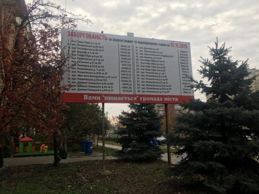 У Мукачеві з'явились незвичні білборди