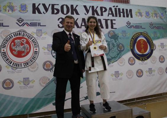 Юні закарпатські каратисти привезли медалі із Дніпра