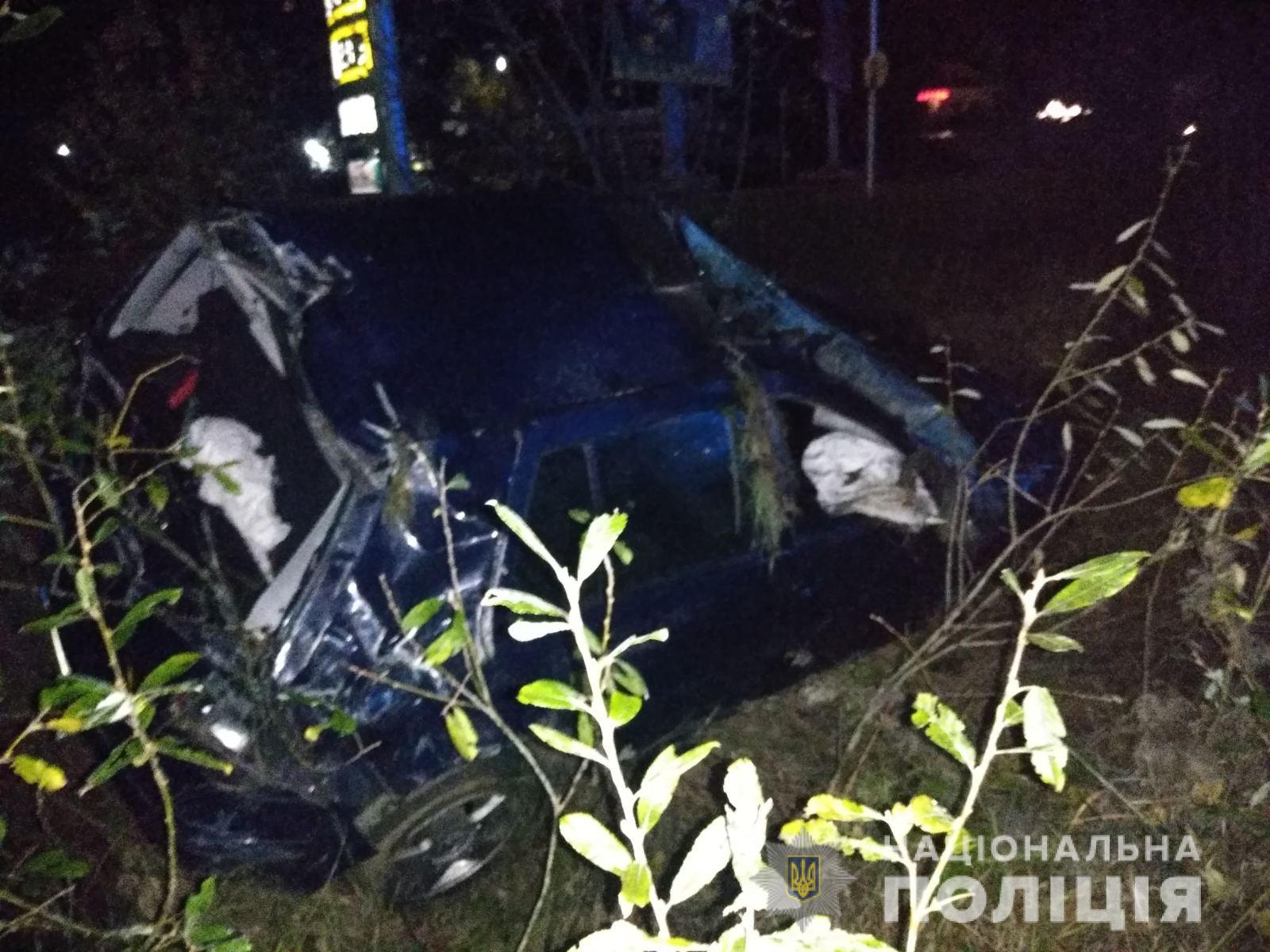За кермом був п'яний водій: подробиці ДТП у Мукачеві
