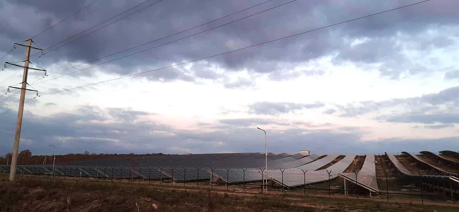 У Нижньому Коропці на Мукачівщині будують сонячну електростанцію