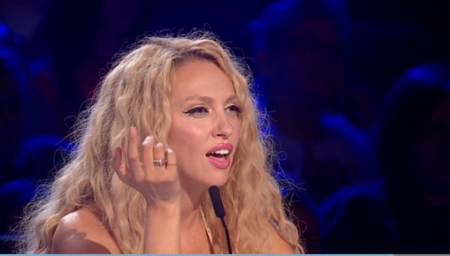 """Полякова різко відреагувала на виступ закарпатця у шоу """"Х-фактор"""""""