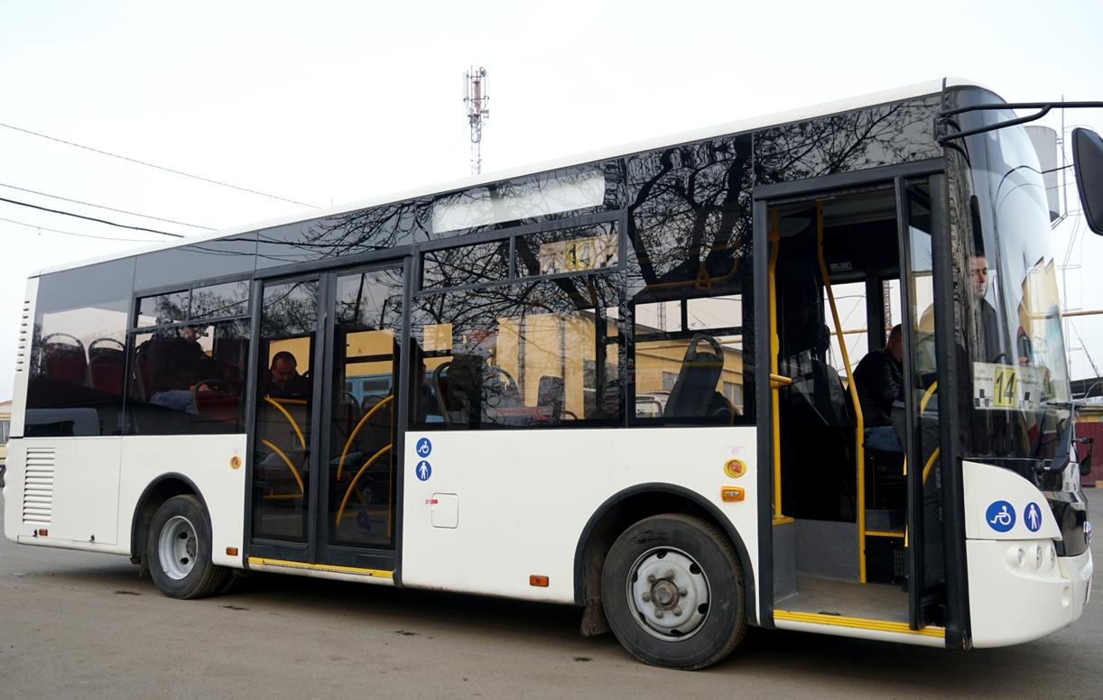 В Ужгороді протестували новий автобус