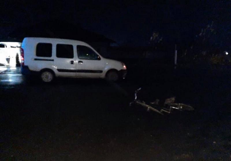 Поблизу Ужгорода авто збило велосипедиста