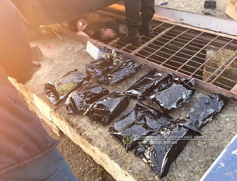 Погоджено підозру іноземцю, який контрабандою спробував вивезти до ЄС 2,7 кг марихуани