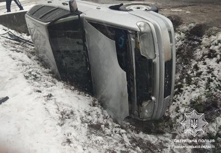 Аварія в Ракошині: винуватець ДТП втік