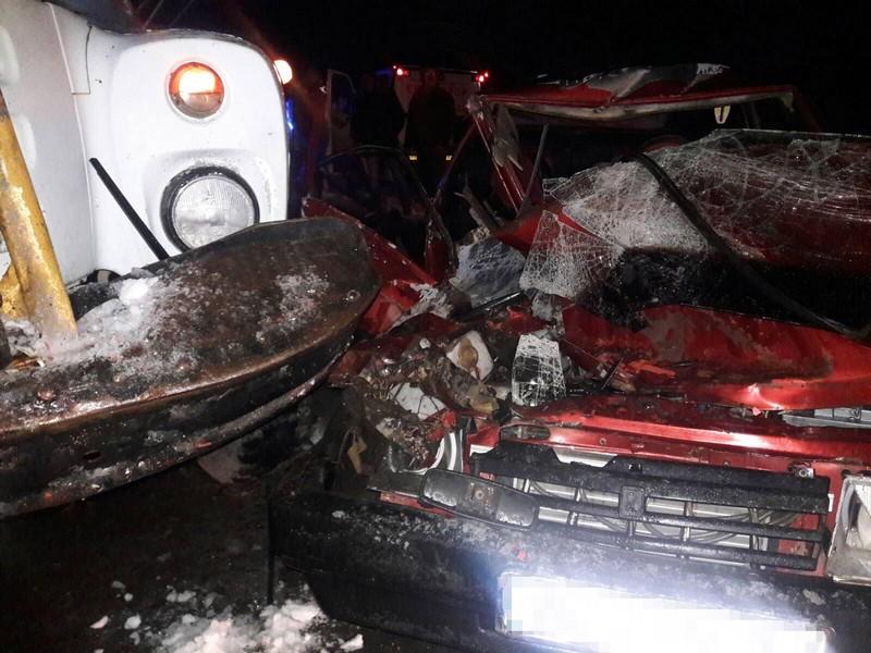 Оприлюднено фото з місця моторошної аварії на Мукачівщині