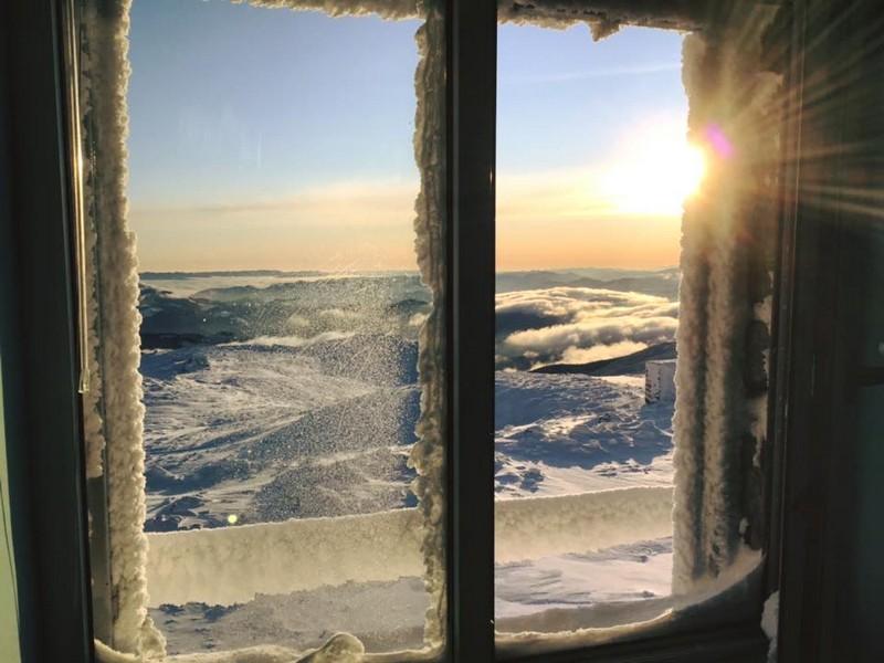 У горах температура опустилася до 13 градусів морозу