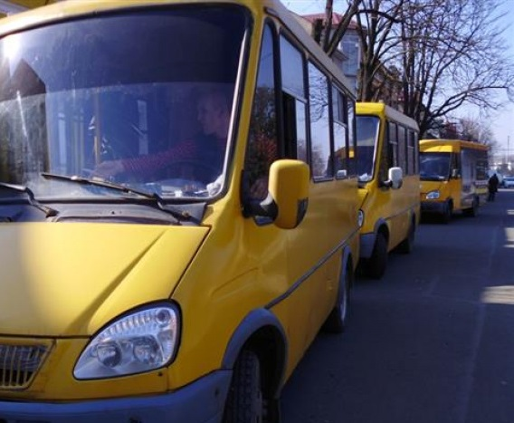 Ужгородців попереджають про зміну маршруту №5