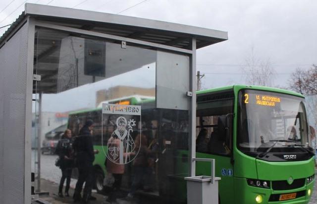 Наступного року в Мукачеві встановлять 13 автобусних зупинок: відомо, на яких саме вулицях