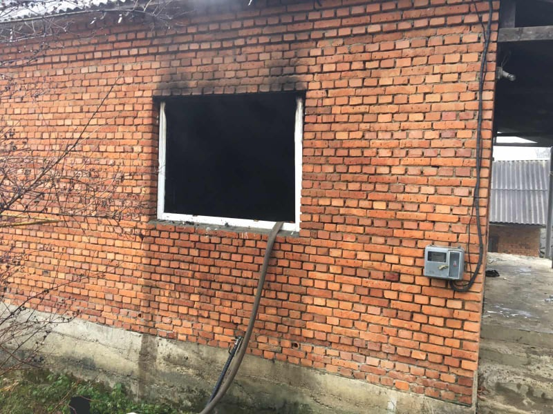 У селі на Тячівщині вирувала пожежа