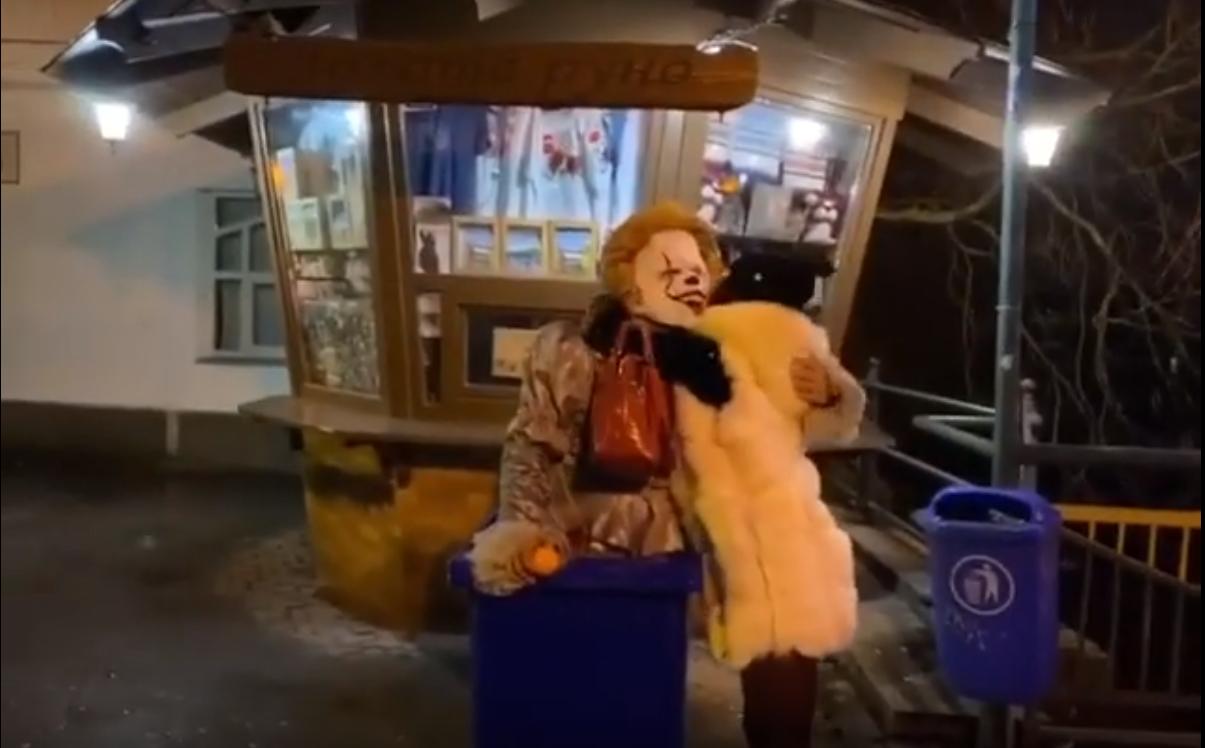 Мукачівський клоун тепер і в Ужгороді