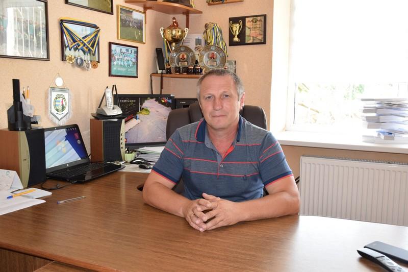 Керівник села Нове Давидково Євген Качур