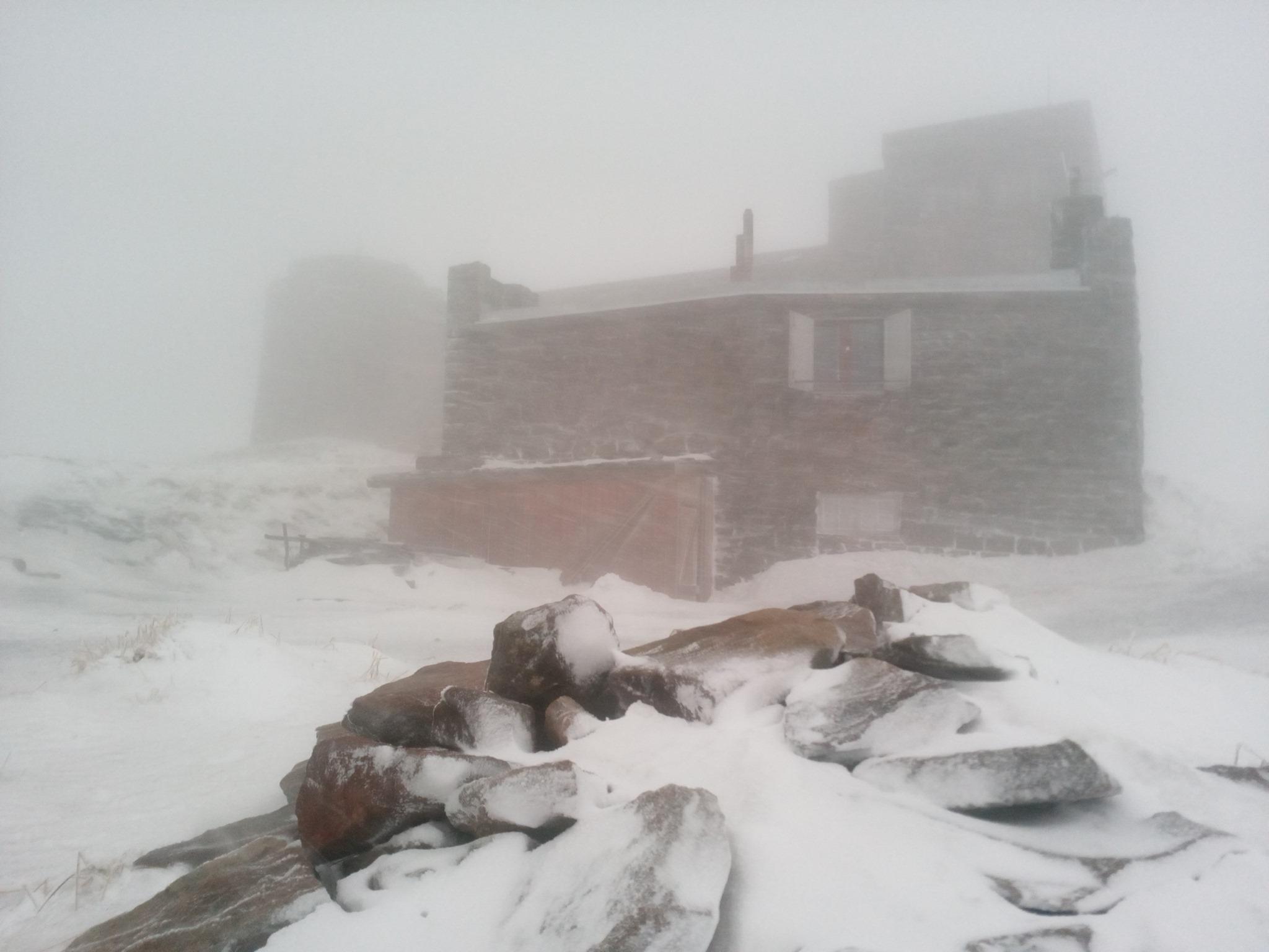 Карпати замело снігом