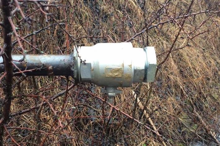 На Берегівщині виявили незаконну врізку в нафтопродуктопровід