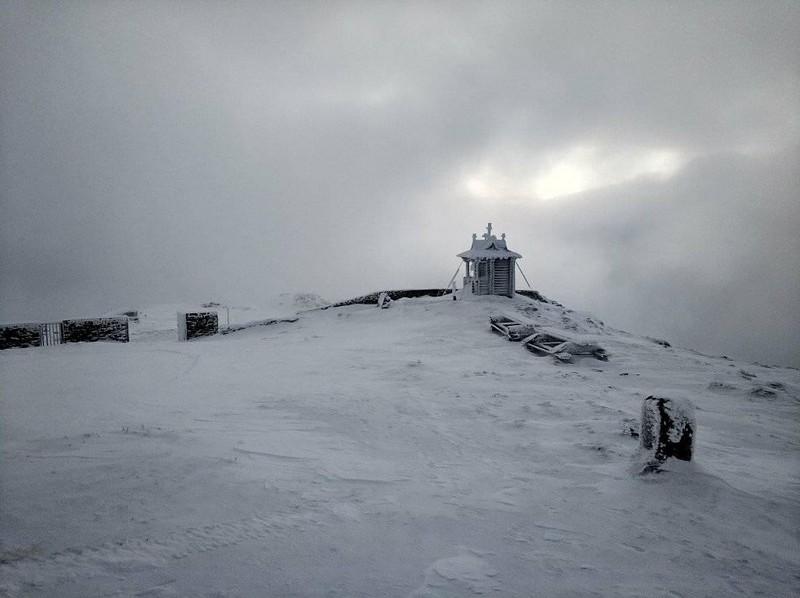 10 градусів морозу: у Карпатах відчутно похолодало