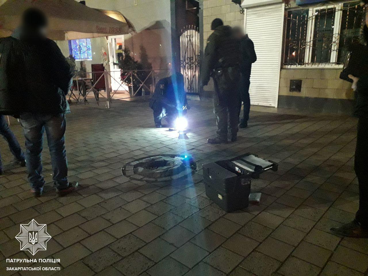 Стрілянина в Ужгороді: правоохоронці затримали причетного чоловіка