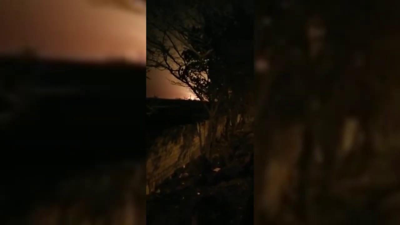 Оприлюднено відео моменту падіння українського літака