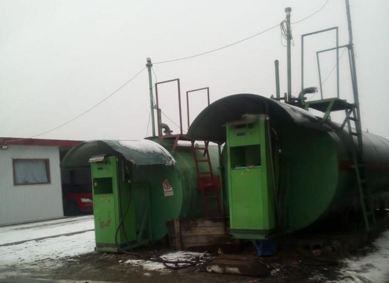 На Тячівщині демонтували три нелегальні автозаправки