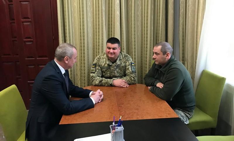 """Відділ прикордонної служби """"Лужанка"""" отримав нового керівника"""