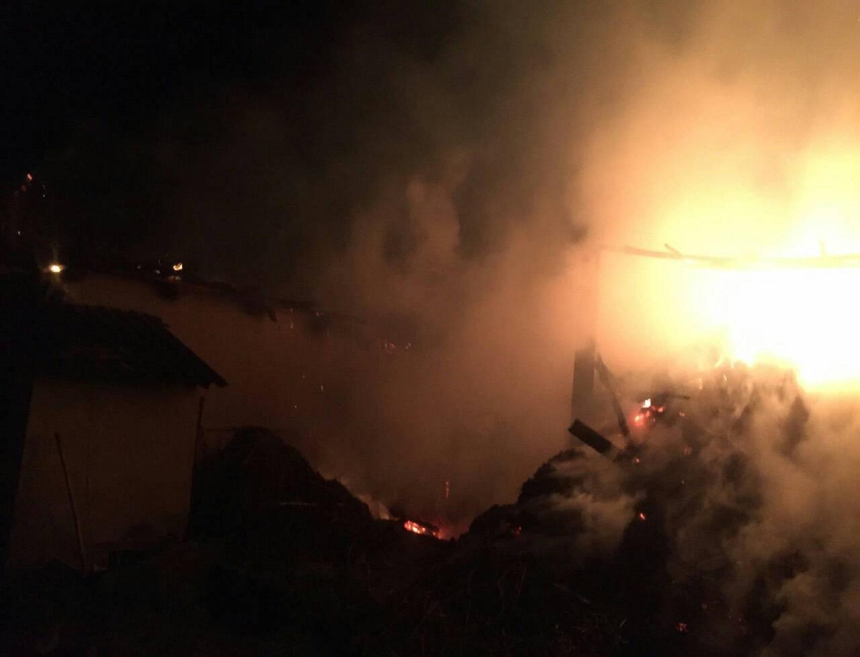 Вогнеборці врятували від знищення вогнем теплиці з городиною