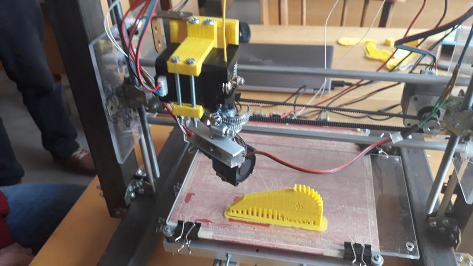 Ужгородські студенти сконструювали 3D-принтер