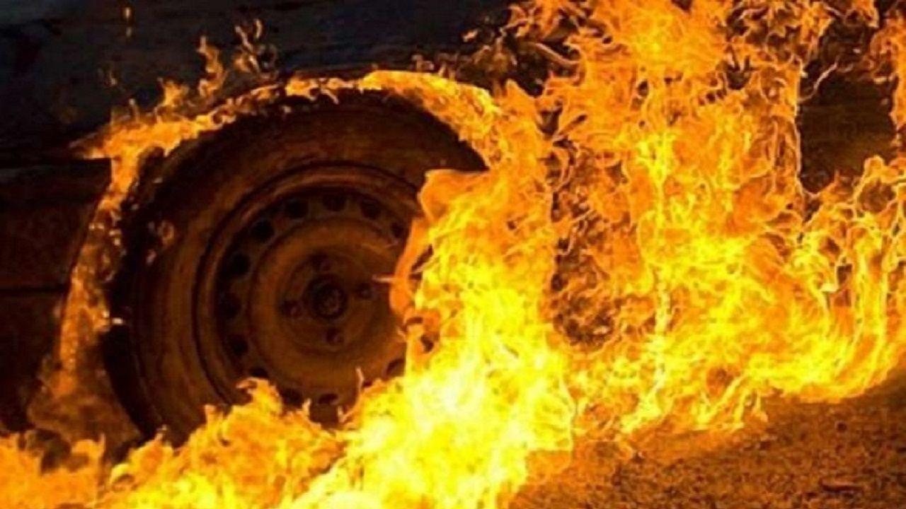 У поліції розказали про нічне загорання автомобіля