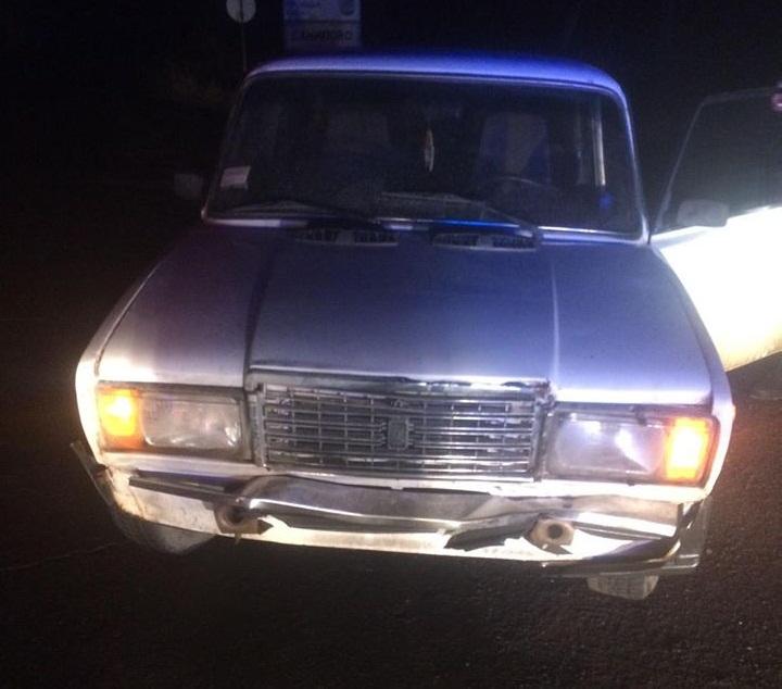 Нічна погоня: п'яний винуватець ДТП тікав від поліцейських