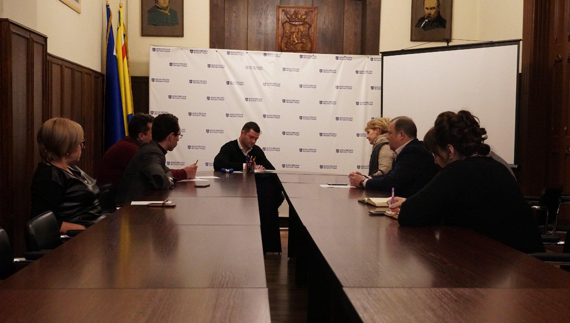 Мер Мукачева сьогодні проводитиме прийом громадян