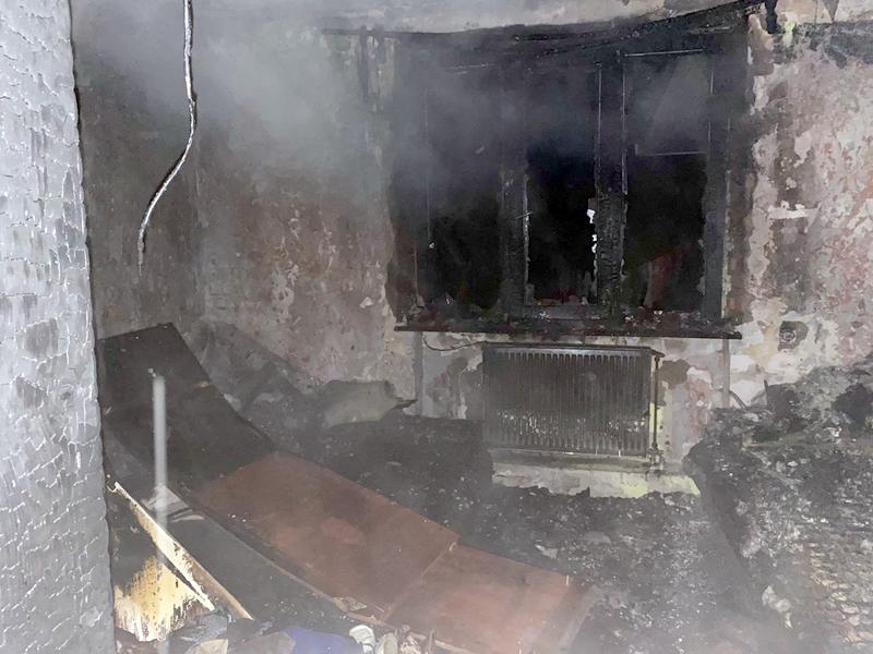 Через дитячі пустощі в Ужгороді загорівся будинок
