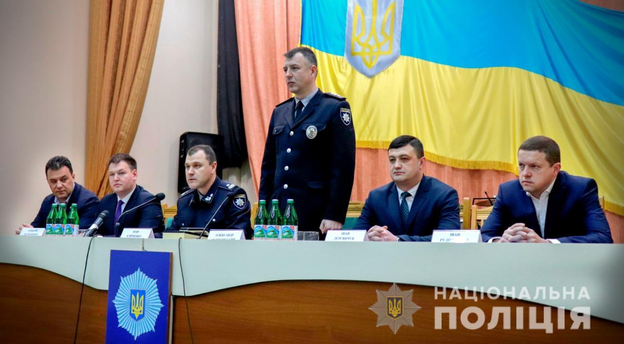 Поліція Закарпаття отримала нового керівника: прізвище та фото