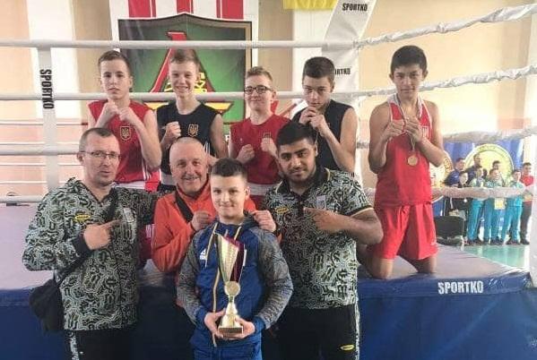Мукачівські боксери – серед кращих у західному регіоні України