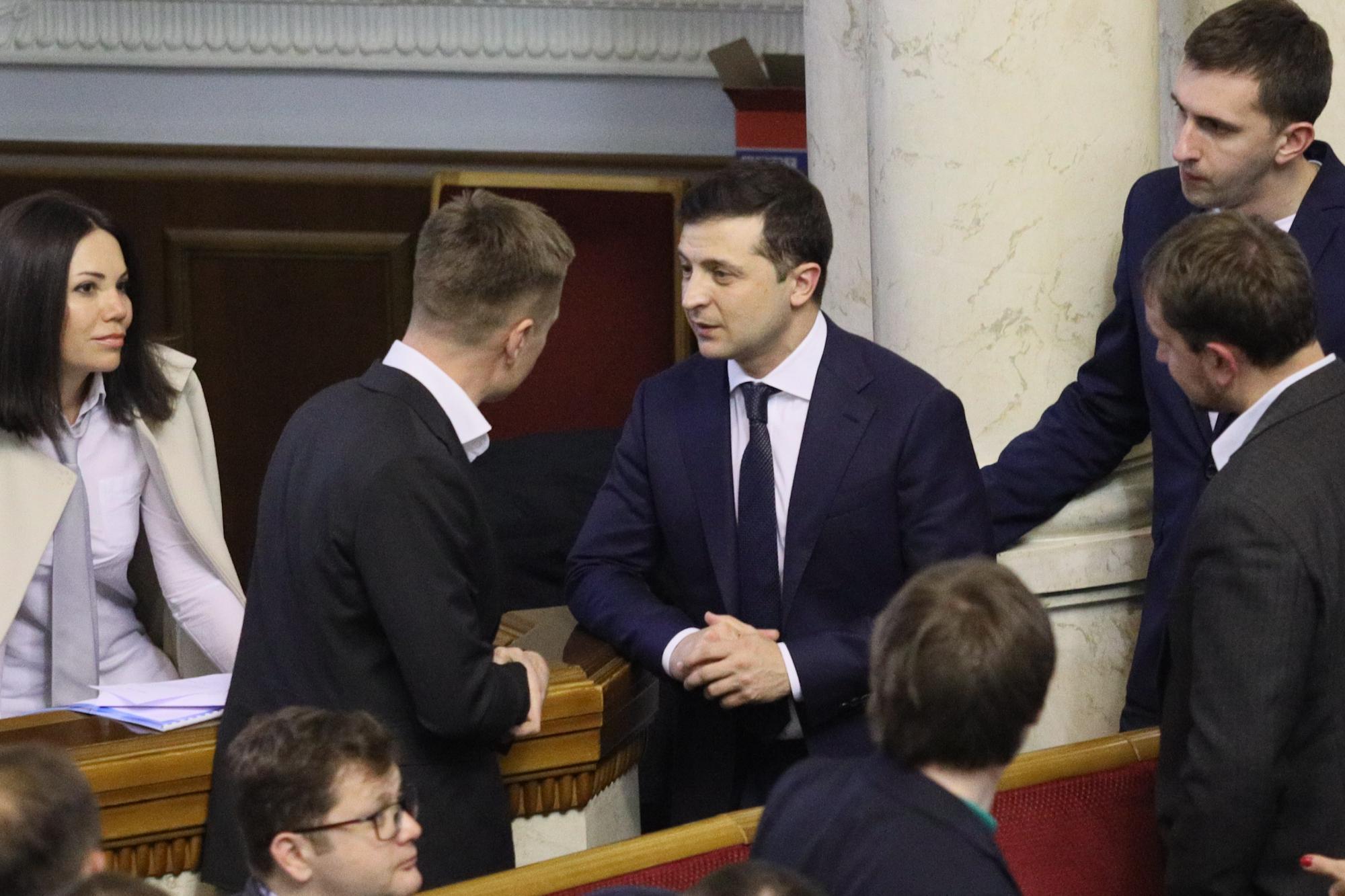 Гончаренко розкритикував Зеленського: реакція президента здивувала