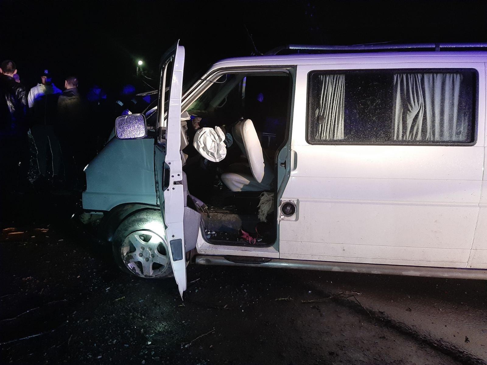 Камера зафіксувала момент фатальної аварії у Виноградові