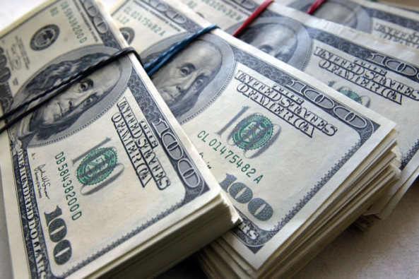 Офіційний курс долара виріс на 18 копійок