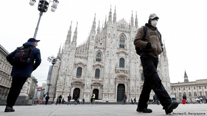 Італія вводить карантин на всю країну та запроваджує жорсткі обмеження
