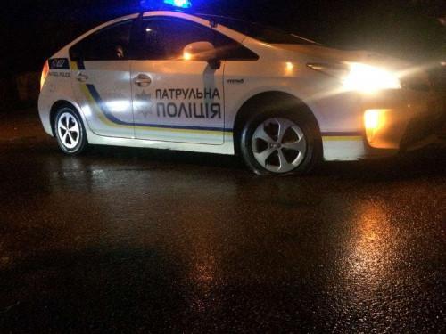 В Іршавському районі авто злетіло в канаву