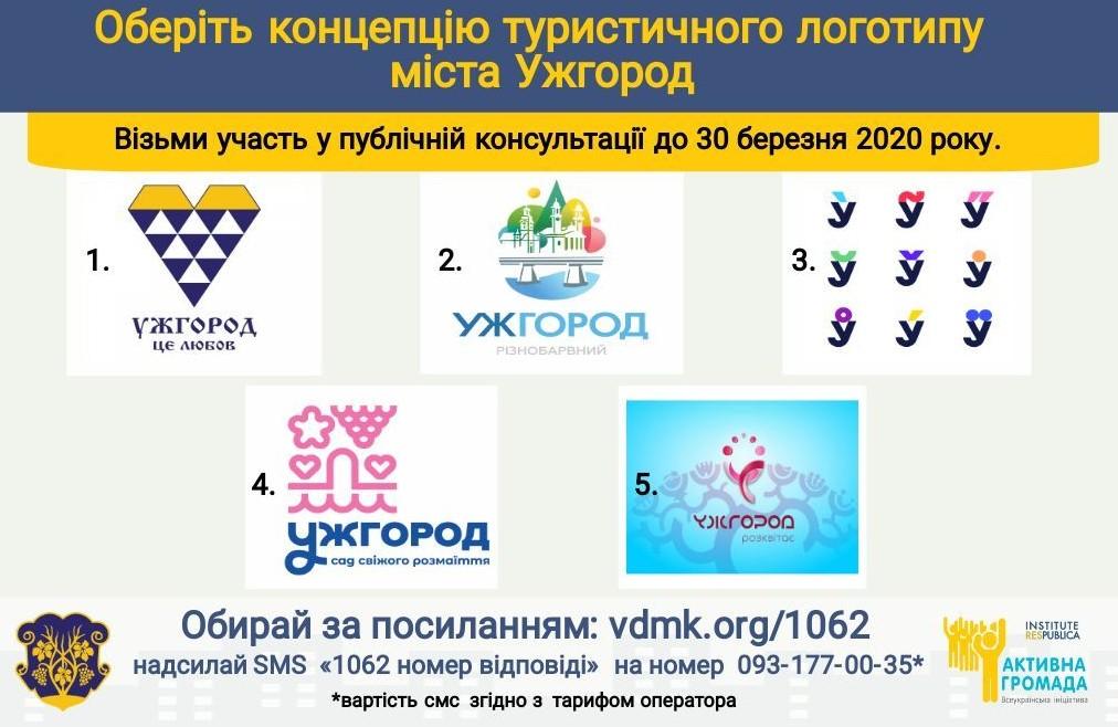 Ужгород обирає туристичний логотип міста